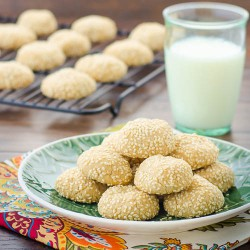 Sesame Tahini Cookies Recipe