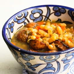 Shaker Bean and Cider Stew