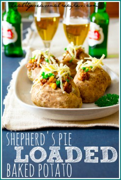 Shepherds Pie Loaded Baked Potatoes Recipe