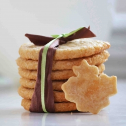 Slice and Bake Maple Cookies