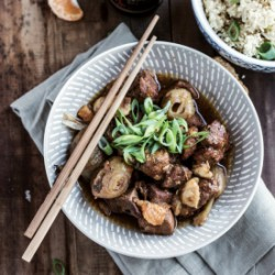 Slow Cooked Oriental Pork