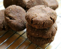 Soft Spiced Cocoa Pumpkin Cookies