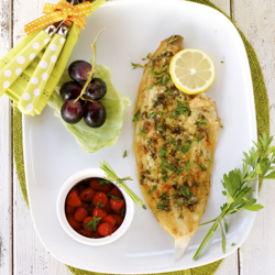 Sole With Lemon Butter Sauce Recipe