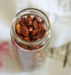 Spicy Tamari Nuts