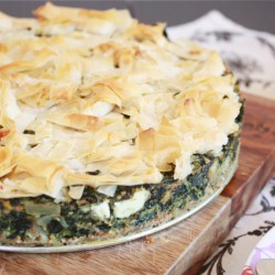 Spinach Pie with Phyllo