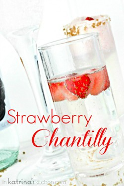 Strawberry Chantilly Cocktails