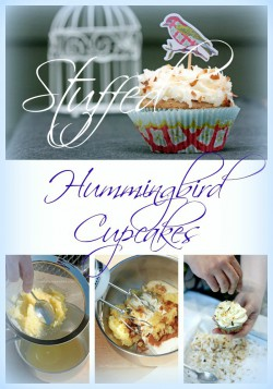 Stuffed Hummingbird Cupcakes