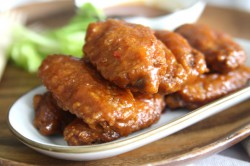 Sweet and Sticky Hot Wings