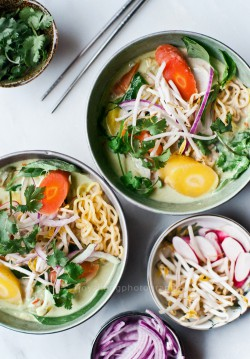 Thai Green Curry Ramen Recipe