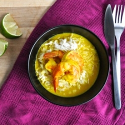 Thai Style Yellow Curry with Shrimp Recipe