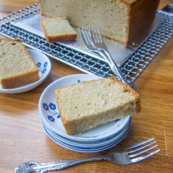 Thai Tea Pound Cake