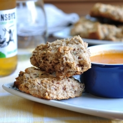 Thyme Spelt and Flax Scones Recipe