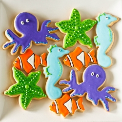 Under the Sea Sugar Cookies
