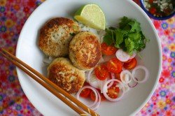 Vietnamese Chicken Rissoles Recipe