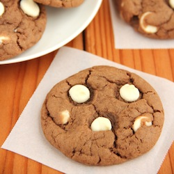 White Chocolate Nutella Cookies Recipe