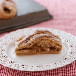 Whole Wheat Apple Pie Braid Recipe