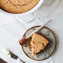 Whole Wheat Pumpkin Cornbread Recipe