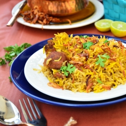 Yoghurt Lamb Rice Recipe