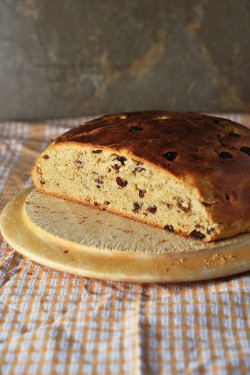 Barmbrack Italian Bread with Dried Fruit and Cinnamon Recipe