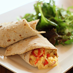 Breakfast Chapati Wrap