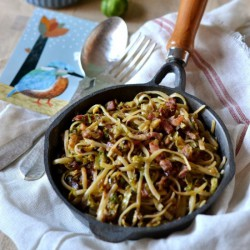Brussels' Sprout Pasta