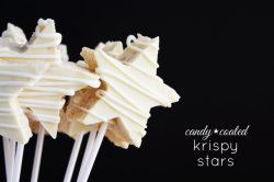 Candy-Coated Krispy Stars