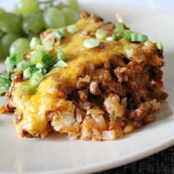 Chili Cheese Tater Tot Casserole Recipe