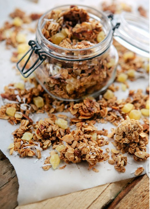 Chunky Tropical Granola recipes - Social Cooking Engine