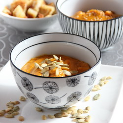 Curried pumpkin purée