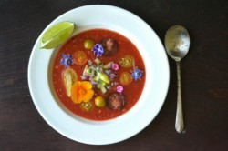 Early Girl Gazpacho