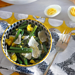 Green Bean and Eggs Salad