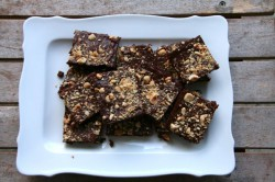 Hazelnut Dark Chocolate Brownies Recipe