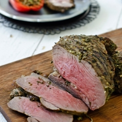 Herb Roasted Leg of Lamb
