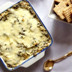 Hot Spinach Artichoke Dip Recipe