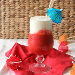 Instant Vacation Mocktail