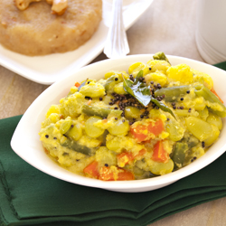 Kootu-Mixed Vegetable curry with coconut