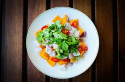 Mango and Chilli Ceviche