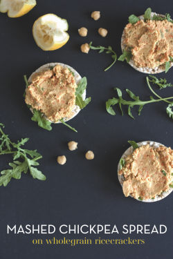 Mashed Chickpea Spread