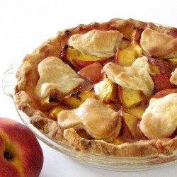 Peach Pie for Two