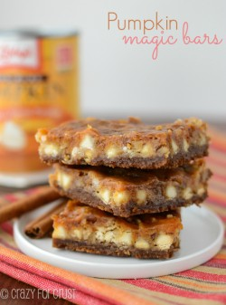 Pumpkin Gingersnap Seven Layer Bars Recipe