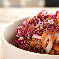 Red Coleslaw Recipe