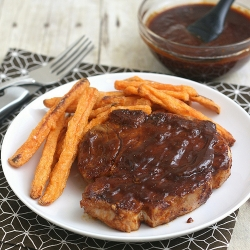 Skillet Barbecued Pork Chops Recipe