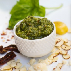 Spicy Almond Pesto