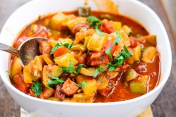 Tomato and Peppers Stew