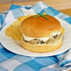 Chicken Creole Burgers