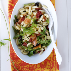 Cold Pasta Salad With Smoked Salmon