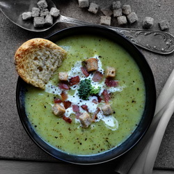 cream of broccoli potato soup