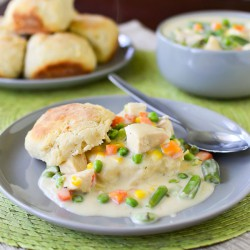 Creamy Chicken and Biscuits