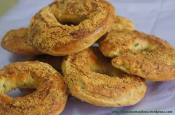 Jalapeno and Cheese Bagels