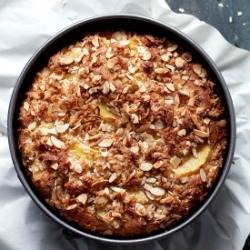 Orange and Almond Coffee Cake